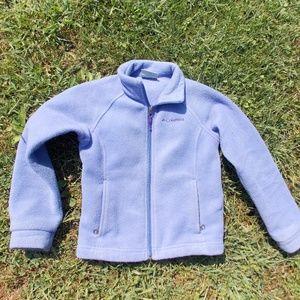 Columbia Youth Girls Fleece Jacket Size XS (6/7)